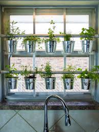 Kitchen Herb Garden Design How To Make A Hanging Window Herb Garden U003e U003e Http Www Hgtvgardens
