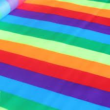 plaid home decor fabric 5m rainbow color plaid polyester home decor fabric sail farbic for