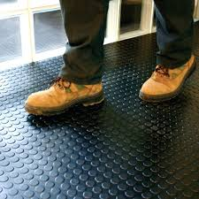Bunnings Laminate Flooring Black Garage Camper Van Floor Checker Plate Rubber Flooring Mat