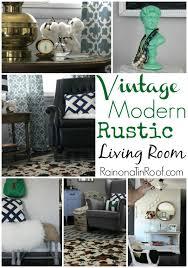modern rustic living room ideas vintage modern rustic living room jpg