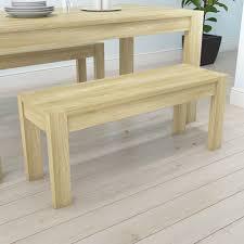 bailey oak dining bench furniture123