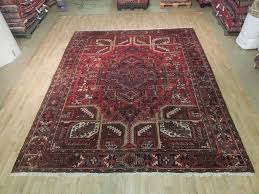 ebay area rugs pink rare persian hand woven 9x11 rug heriz genuine area rug ebay