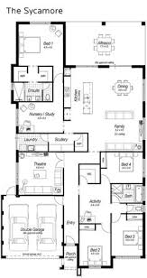 Sycamore Floor Plan Lincoln 37 Metricon Homes Pretty Much Perfect Single Story