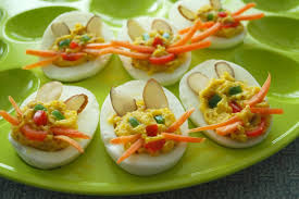deviled egg plates bunny deviled eggs recipe
