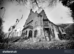 spooky haloween pictures decrepit spooky halloween castle stock photo 58339411 shutterstock