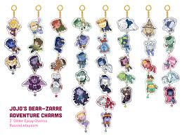 jojo s earrings jojo s adventure charms