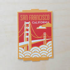 California Travel Stickers images San francisco california travel sticker jpg