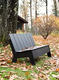 Modern Outdoor Wood Bench by Modern Outdoor Bench For Quality Lollygagging Loll Designs