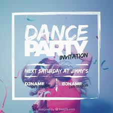 party invitation party invitation design vector free