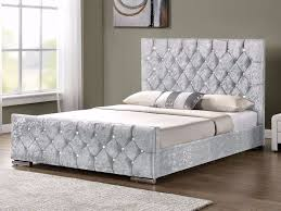 chesterfield double size bed frame discounted