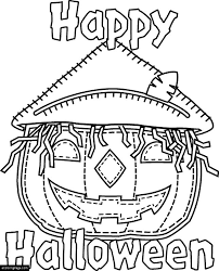 happy halloween ecoloringpage com printable coloring pages