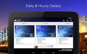 accuweather android app 6 best free weather apps for android