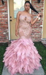 lace appliqued long prom dresses custom made 2017 illusion neck