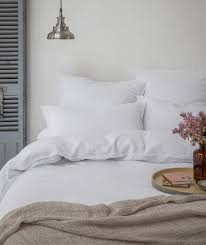 fringed linen duvet covers the linen works london