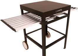 billot cuisine billot de cuisine en aluminium avec plateau coulissant sans étagère