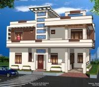 Marvellous plete House Design And Outside View With