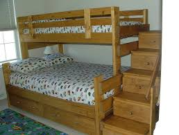 awesome twin over full bunk bed plans with free woodworking plans