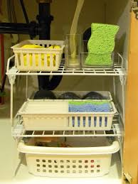Under The Kitchen Sink Storage Ideas Kitchen Ideaswith Woodcabinet Metalrefrigerator Organization