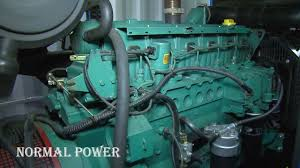 volvo penta generator 120 kva youtube