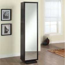 furniture fantastic square glass mirror cabinet with grey