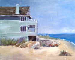87 beach cottage original art painting by norma wilson