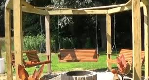 Firepit Swing Looking For A Backyard Project These Pit Swings Are Exactly