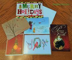 used christmas cards collection points best images collections