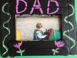 father u0027s day chalkboard paint picture frame angelibebe