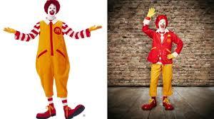 Ronald Mcdonald Halloween Costume Ronald Mcdonald Normcore Makeover