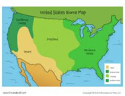 United States Atlas Map Online by Biomes Of The World Asu Ask A Biologist United States Biome Map