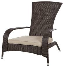 Armchair Outdoor Contemporary Patio Furniture U0026 Outdoor Furniture Houzz