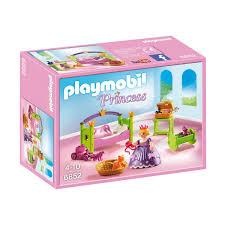 playmobil chambre bébé chambre de princesse playmobil princess 6852 la grande récré
