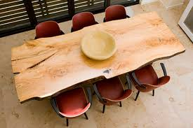 natural wood table top tables exquisite natural oak dining table design with leather