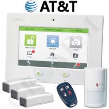 dsc touch cellular alarm wireless security system for at t