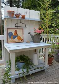 Potting Bench Ikea 311 Best Garden Potting Bench Or Table Images On Pinterest