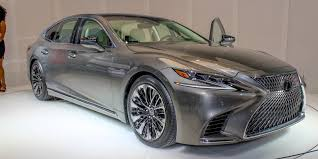 lexus paper sedan 2018 lexus ls 500 photos video and info car news