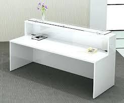 White High Gloss Office Desk Gloss White Desk Bethebridge Co