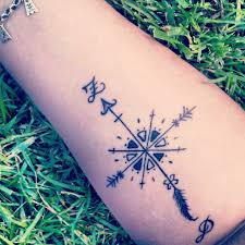 dragon compass tattoo design in 2017 real photo pictures images