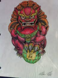 foo dog by voodoogrizzlybear on deviantart