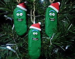 pickle rick ornament rick and morty tree pickle