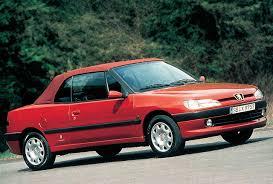 peugeot 306 convertible buyer u0027s guide peugeot n5 306 cabriolet 1997 02
