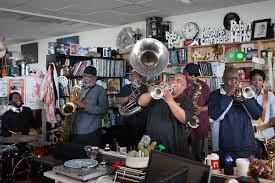 Tiny Desk Npr Fat Tuesday At Npr Music U0027s Tiny Desk Dirty Dozen Brass Band