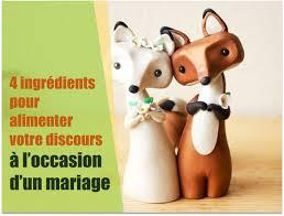 discours mariage présenter avec impact 4 ingrédients pour alimenter le discours