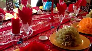 table setting for chinese new year celebration youtube