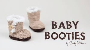 ugg crochet slippers sale ugg inspired crochet baby booties croby patterns