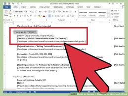 Sample Resume In Word Document by How To Create A Resume In Microsoft Word With 3 Sample Resumes