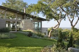 hillside house lake flato