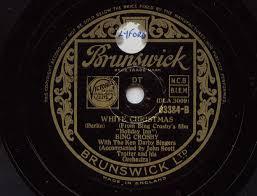 bing crosby u0027white christmas u0027 original 1942 version 78 rpm youtube
