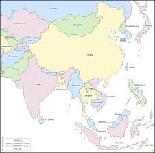 Map With State Names by South And East Asia Free Map Free Blank Map Free Outline Map