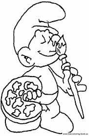 coloring pages smurfs 1 printable coloring pages
